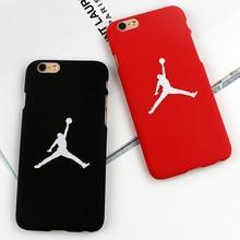 Flying Man Michael Jordan Matte PC Hard Case For iphone 7 7 Plus 5 5s SE