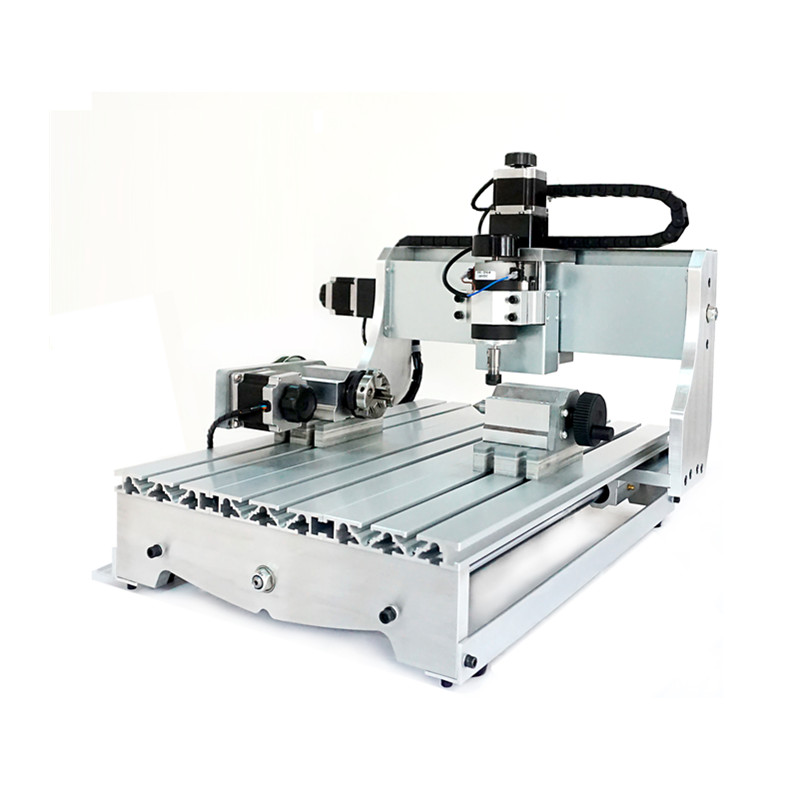 300W CNC 3040 milling machine 3040Z 4 axis ball screw cnc engraver router for wood glass plastic russia no tax 1500w 5 axis cnc wood carving machine precision ball screw cnc router 3040 milling machine