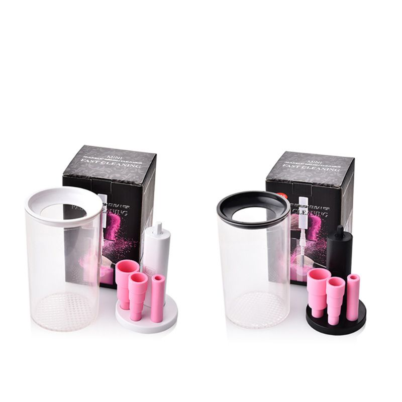 Mini Electric Cosmetic Makeup Brush Cleaner Dryer Dry Auto C