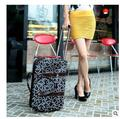 "2016 Brand 20"" Travel bag on wheels travel trolley cabin luggage suitcase bag on wheels for women Travel Duffle Oxford Luggage"