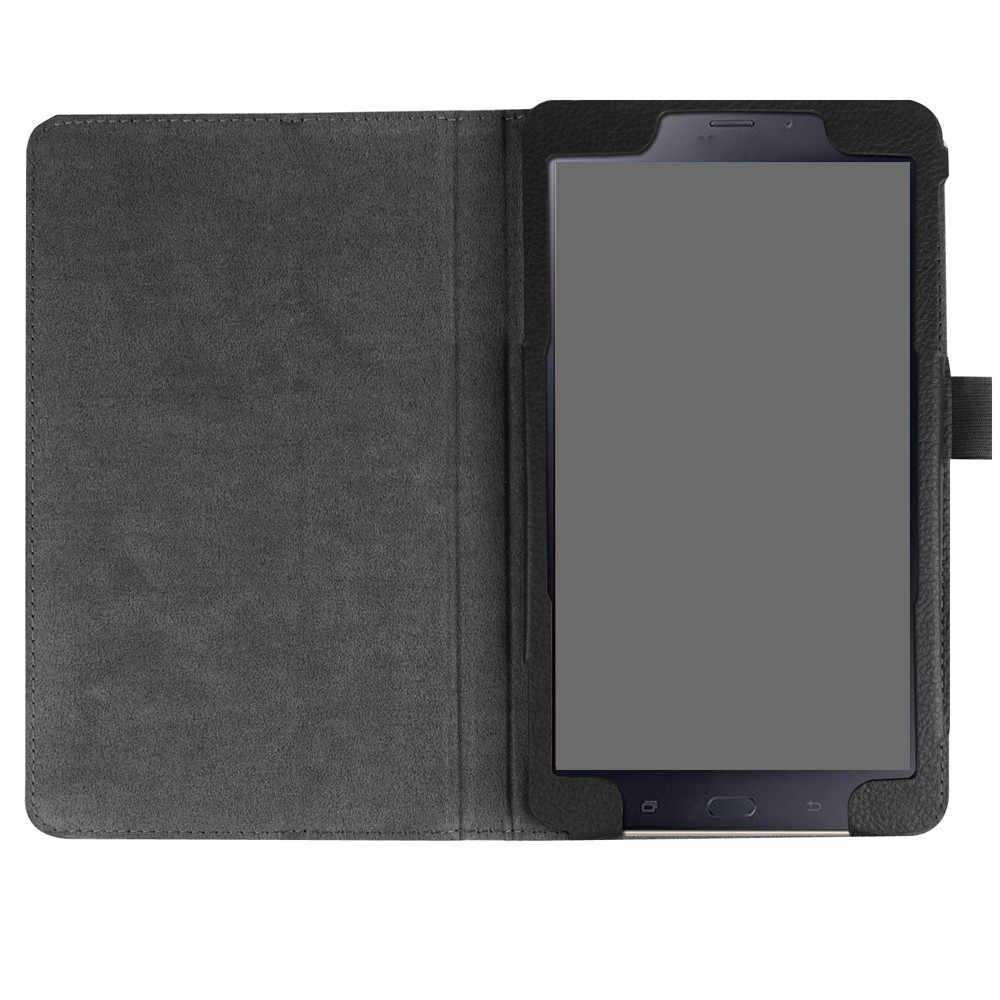 Para Samsung Galaxy Tab A 8 pulgadas SM-T380 T385 2017 Funda de cuero inteligente funda suave duradera más rápida gratis stylus Limpia la pantalla
