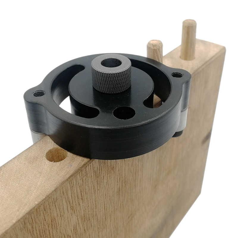 6/8/10 Mm Vertikal Lubang Saku Self Centering Dowelling Jig Hole Puncher Locator Bor untuk woodworking Alat Alat Pertukangan
