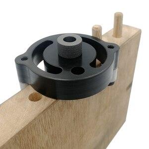 Image 5 - Gabarit de poinçonnage de trous de poche Vertical de 6/8/10mm, auto centrant, localisateur de trous, Guide de perçage pour outils de menuiserie