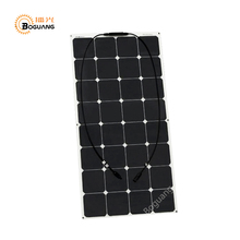 Boguang 100W Factory Cheap 12V flexible PV solar panel cell module system charger battery light kit