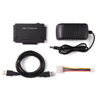 USB 3 0 To IDE SATA Adapter Hard Drive SATA Transfer Converter For HDD SSD CD