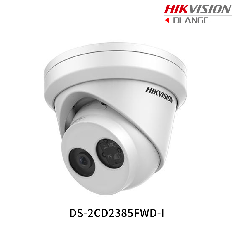 Hikvision Hik 4K Original English Security Camera DS-2CD2385FWD-I 8MP H.265+Mini Turret CCTV Camera WDR IP Camera POE IP67 1080P hikvision 3mp low light h 265 smart security ip camera ds 2cd4b36fwd izs bullet cctv camera poe motorized audio alarm i o ip67