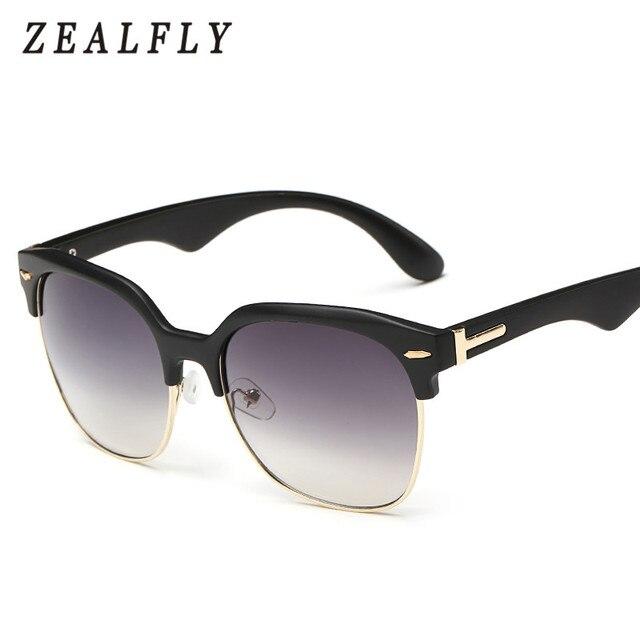 582797f6e1 Ojo de gato Semi-Sin Montura gafas de Sol Negras Lentes de Gradiente de  Color