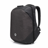 2017 New Style Oxford Men Backpack Multifunctional Anti Theft Lock Backpack 15 6 Inch USB Charge