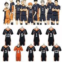 9 Styles Anime Haikyuu Cosplay Costumes Karasuno High School Volleyball Club Shirts And Pants Uniform