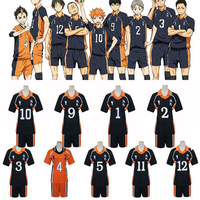 9 Styles Anime Haikyuu Cosplay Costumes Karasuno High School Volleyball Club Shirts And Pants Uniform