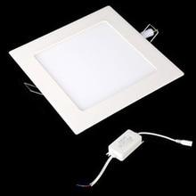 LED Downlight 3W/4W/6W/9W/12W/15W/25W Square LED Panel Light
