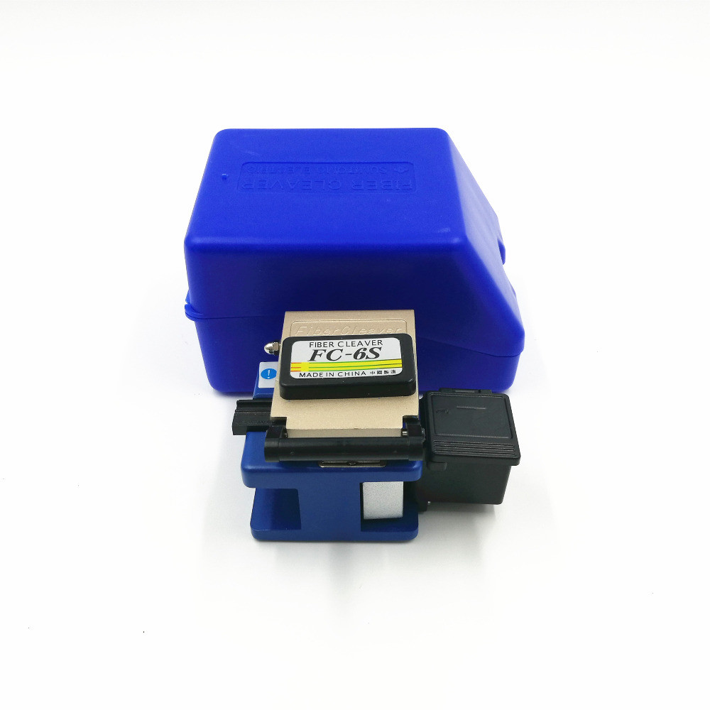 OEM FC-6S Easy Splicer Fiber Optic Fusion Splicer Cleaver Automatic Focus Function FTTH
