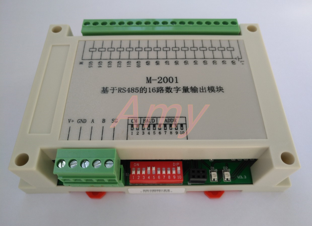16 Way Isolation Switch Output 485 Signal Collector Industrial Grade Product Excellent Performance.