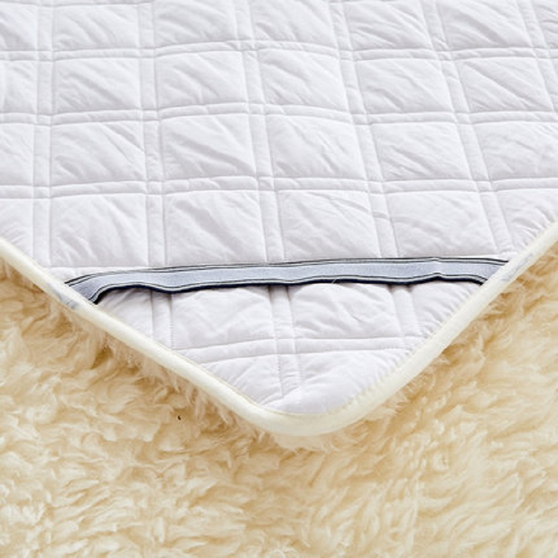 Image 2 - 100% cashmere  Mattress Thickening Coral velvet Tatami Soft Super Warm Fleece Cushion Dormitory Hotel Winter Bed Mat-in Mattresses from Furniture