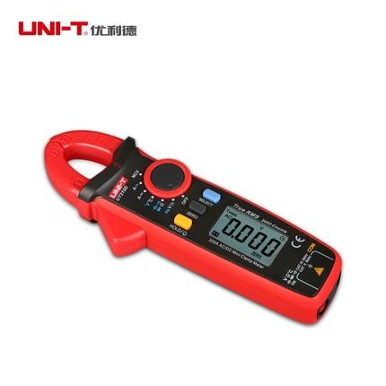 UNI-T UT210D Digital Multimeter Clamp Capacitance Current Voltage Resistance Meter Tester Temperature Auto Range Voltmeter