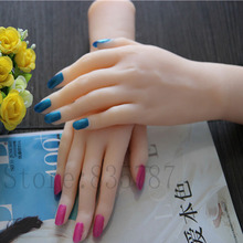 Solid SiliconFemale Hands,Sex Doll Real Skin,realistic mannequin hands, ring display ,Sexy Woman Hands H03