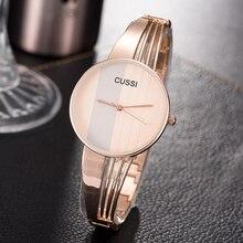 Women fashion stainless steel waterproof watch + bracelets (2 colors)