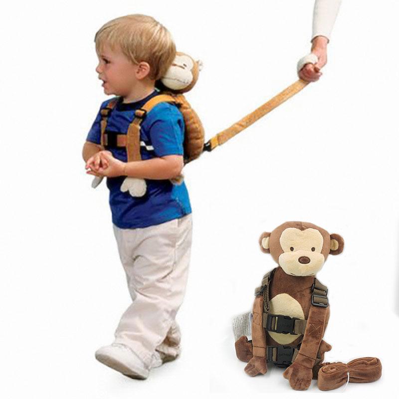Knuffels Rugzak Baby Gordel Peuter Pluche Rugzakken Kinderen WalkTravel Pluche Buddy Anti-verloren met Leash Strap