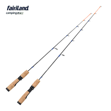1 SEC 71cm/81cm ML M 100% Solid Carbon Ice Fishing Rod Lightweight Ice Fishing Pole 2.4′ 2.8′ Winter Casting fishing Rod