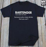 5f7e0e6ef5 Bartender T Shirt Funny Bartender Definition Shirt Beer Vodka Whiskey T  Shirt 2019 New Brand Men