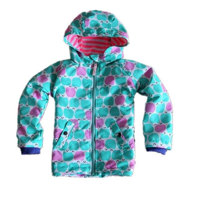 UK Original Mini BODEN kinder Jacke, Bunte Blume Mädchen Showerproof Windjacke, Kinder Warme Fröhliche Weihnachten Mantel