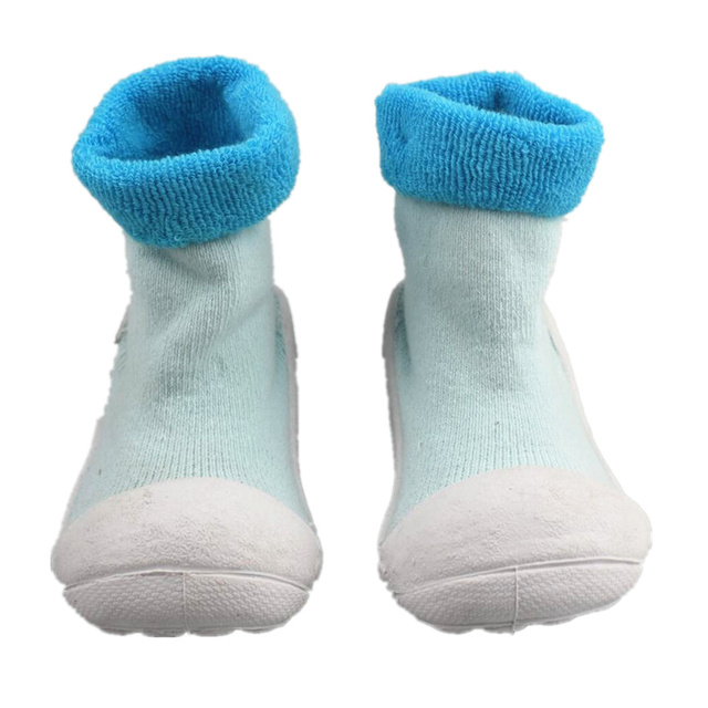 Iendycn Children Girl Boy Baby Socks With Rubber Bottom Anti Skid