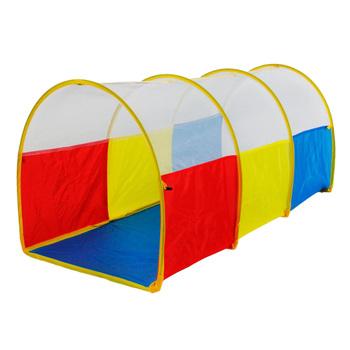 Dzieci czołgają się przez tunel do zabawy zabawki Pop-up tunel dla dzieci małe dzieci niemowlęta i dzieci wewnątrz i na zewnątrz rury kolorowe tanie i dobre opinie Other 3 lat Namiot Kid Crawl Arched Tunnel Sport