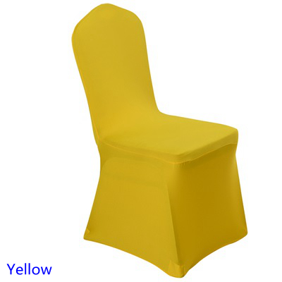 spandex banquet chair covers for sale kids folding table and chairs costco wedding yellow colour flat front lycra stretch cover decoration wholesale on
