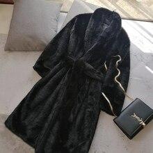 2018 New Style High-end Fashion Women Faux Fur Coat S18