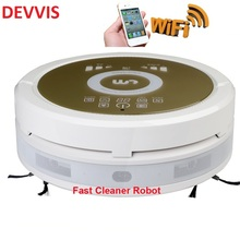 Robot Aspirador with Air Purifier Wet and Dry with 150ml Water tank also can be controlled by your Smartphone,lithium battery