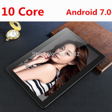 Android 7.0 T100 Tablet PC Tab Pad 10.1 Inch 10 Core 4GB RAM 64GB ROM Dual SIM Card LTD FDD Phone Call 10.1