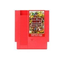 Vermelho 143-in-1 8 Bits de 72 Pinos Placa de Vídeo Game Com Função de Memória Para NES/FC Console Para Contra/Earthbound/Cartão de Jogo Megaman