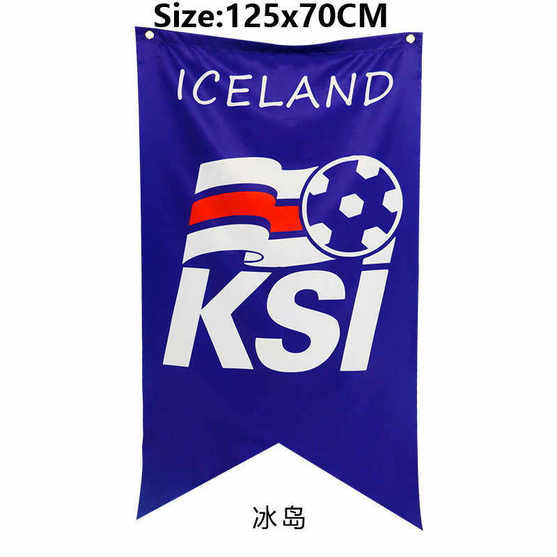 a2028e81e61 ... World Football Cup All 32 National Soccer Teams Banner Flag 125x70CM  Flags and Banners Portugal