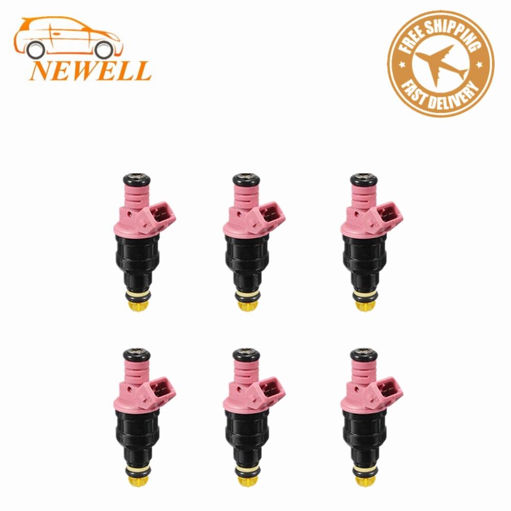6PCS 0280150440 Genuine New Fuel Injectors For BMW Z3 M3 528I 328IS 2.8L 3.2L