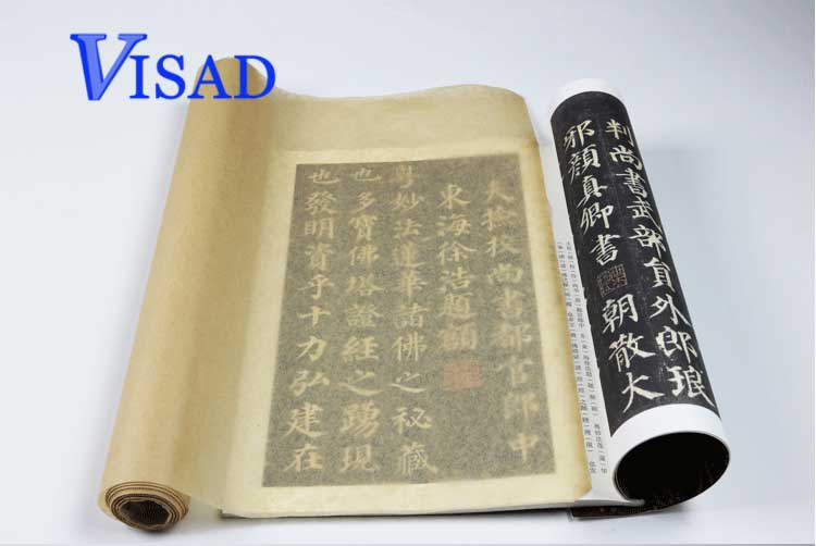 Chinese yunlong paper Traditional Rice Paper rolls tracing paper for calligraphy painting Writing Xuan Paper 0.35*20m