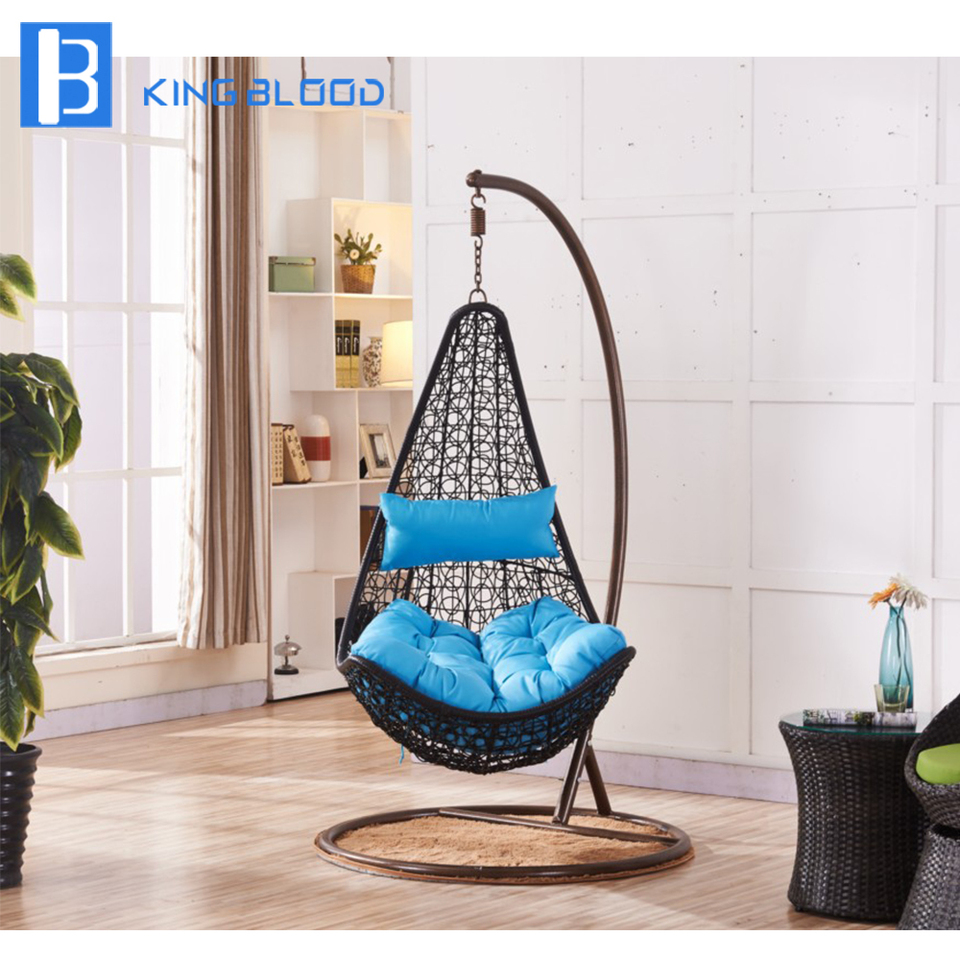 Pe Rattan Swing Chair Outdoor Egg