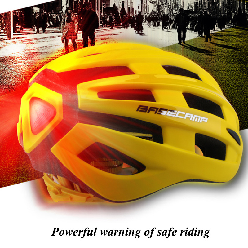 Ultralight Bicycle Helmet Aero Capacete Road Mtb Mountain XC Trail Bike Cycling Helmet With Warning Light 50-56cm Casco Ciclismo rockbros direct selling in mold mtb bike helmet with tail light casco ciclismo carretera usb luminous cycling equipment capacete