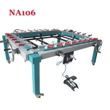 1PC Hand wheel single chuck machinery stretcher machine,NA106 net head tension device machine Net area 1500*1200mm