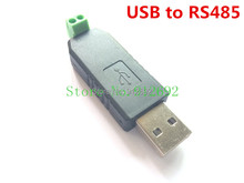 Free shipping USB to RS485 USB-485 Converter Adapter Support Win7 XP Vista Linux Mac OS WinCE5(China (Mainland))