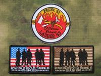 10cm Suit SEAL TEAM Operation Red Wings Lone Survivor mark Embroidery patch Badges
