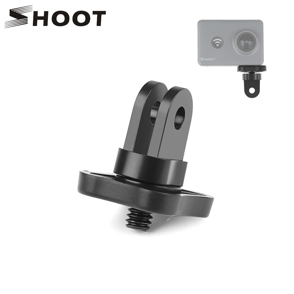 SHOOT Universal Mini Tripod Convert Quick-Release Adapter Mount For GoPro Hero 7 6 5 Black 4 Xiaomi Yi 4K Sjcam Eken Accessories