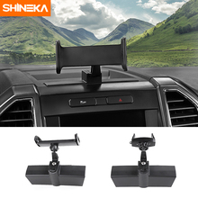 SHIENKA Car GPS Mobile Phone Ipad Holder Bracket Cellphone Stand for Ford F-150 Car Accessories mopai car gps mobile phone ipad holder bracket cellphone stand stickers for ford f150 2015 up interior accessories car styling