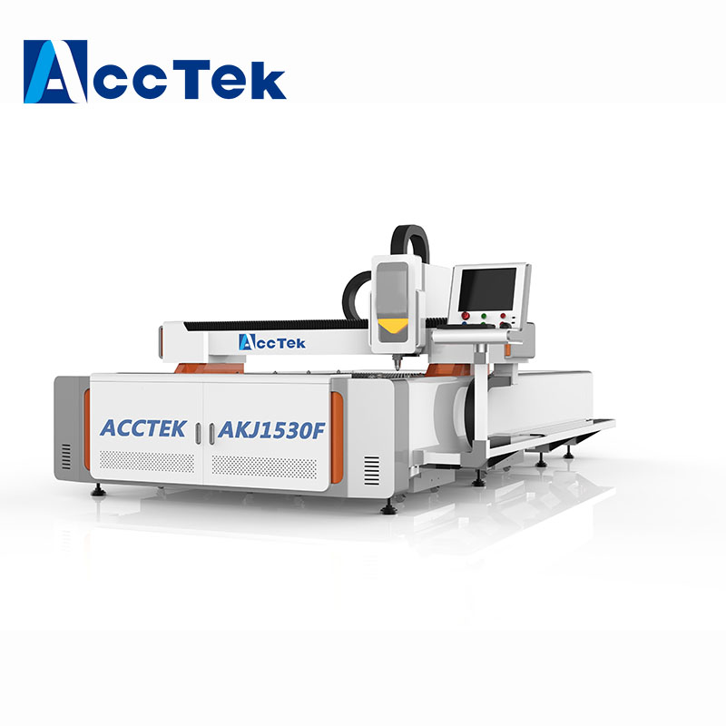 IPG 700W 1000W 1500W aluminum copper brass metal fiber laser cutting machine with Germany IPG laser source