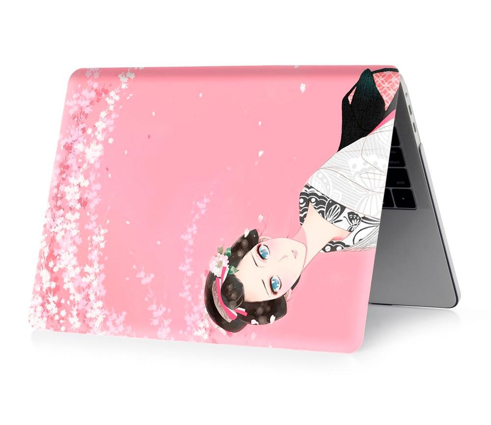 Image 4 - Чехол для ноутбука с цветной печатью для Macbook Air 11 13 Pro retina 12 13 15 дюймов цвета Touch Bar новый Pro 13 15 или новый Air 13 кимоно-in Сумки и чехлы для ноутбука from Компьютер и офис