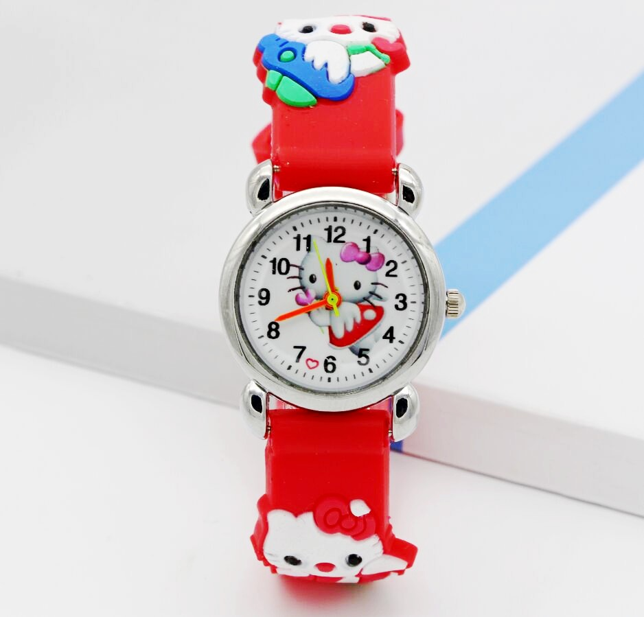Fashion Casual Children Watch Led Digital Display Bracelet Watch Childrens Students Silica Gel Sports Clock Watches Miraculous Watches