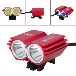 Image 2 - Waterproof USB Bike Light 8000LM 2 X T6 LED Front Bicycle Headlight Dual Lamps for Cycling No Battery