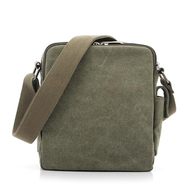 Multi-functional Casual Messenger Bags Men Canvas Leisure Men Shoulder Bags Vintage Small Crossbody Satchel Bag For Men 3