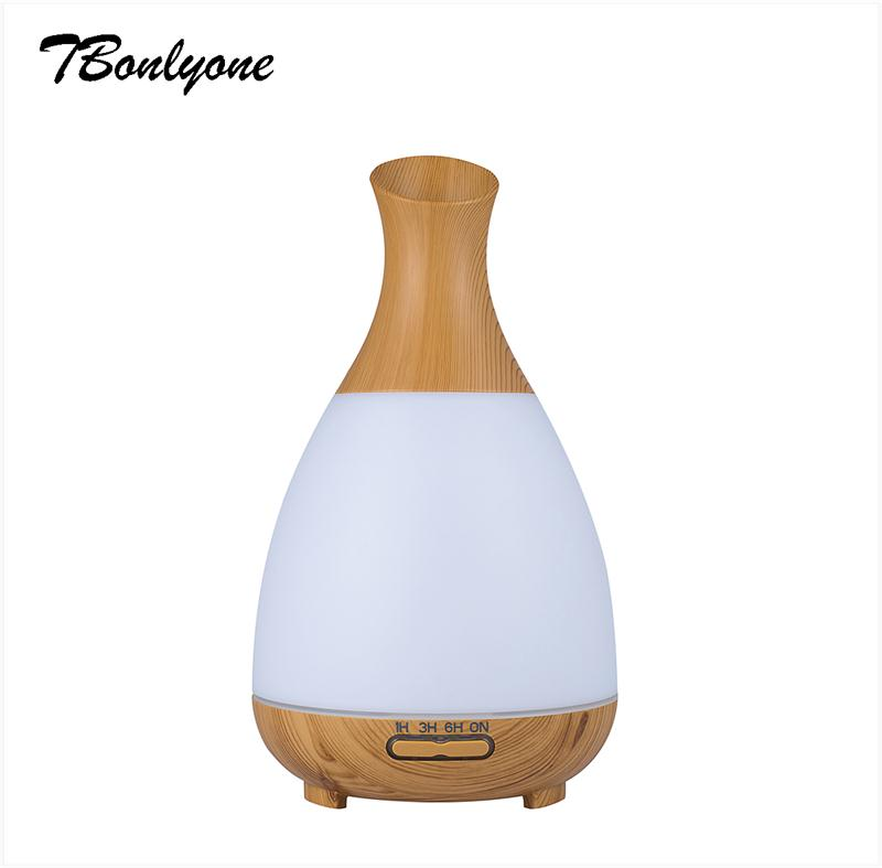 TBonlyone 120ML Timer Colorful Ultrasonic Aroma Diffuser Aromatherapy Air Humidifier Essential Oil Diffuser Fogger for Home Room