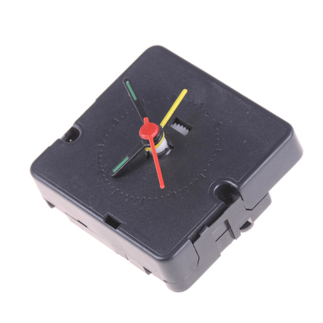 Table Quartz Alarm Movement Clock Machine,Quartz Clock Parts Alarm Clocks DIY Replacement Part Set