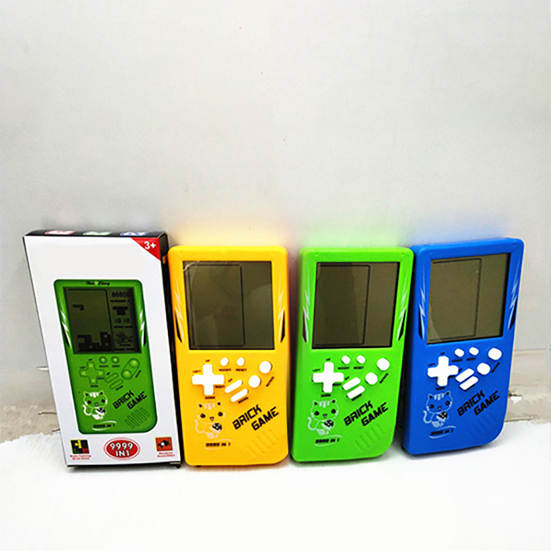 Retro Classic Childhood Tetris Handheld Game Players Juguete educativo